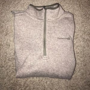 Other - Avalanche 3/4 zip up sweater